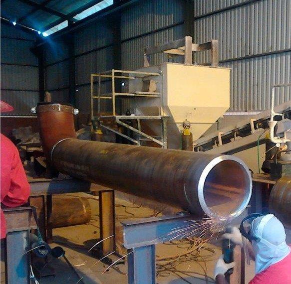 Fabricação de vasos de pressão